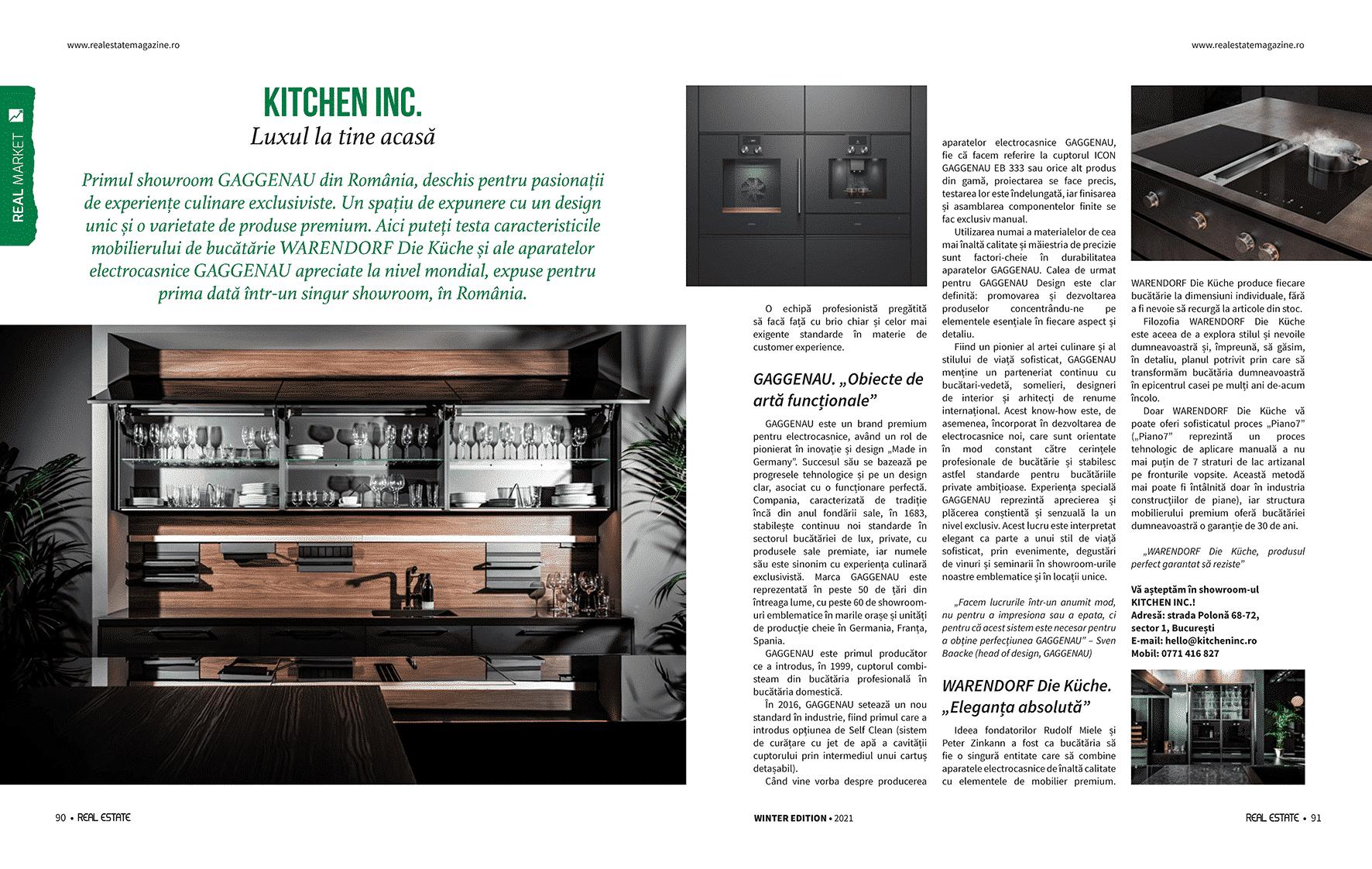 Advertorial KitchenInc